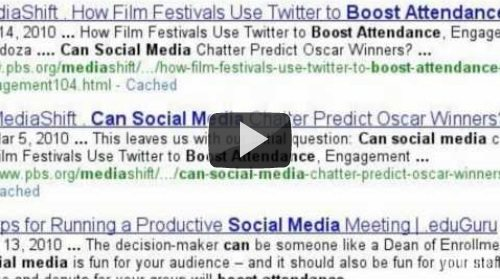 Learn About Using Social Media for Events
