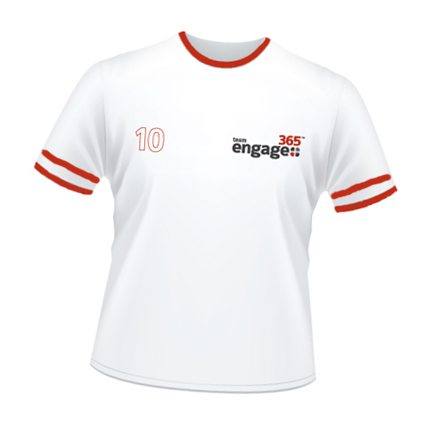 Team Engage365 Jersey T's Giveaway at ASAE's Annual Meeting