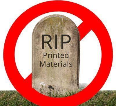 is print dead?