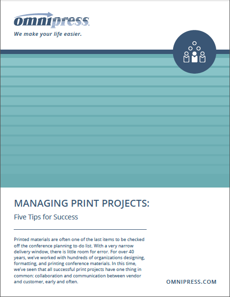 Optimize Your Conference Print Process with These 5 Tips