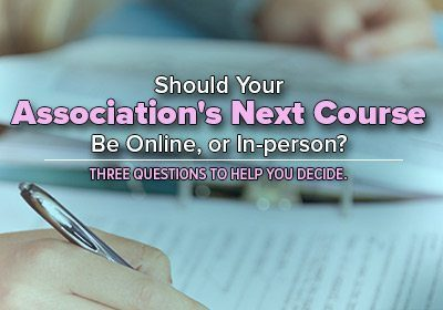 Training Course Online or in-person