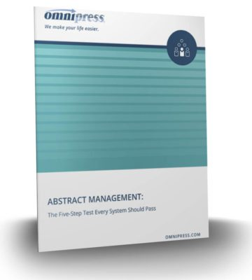 Whitepaper: 5-Step Test Every Abstract Management System Should Pass
