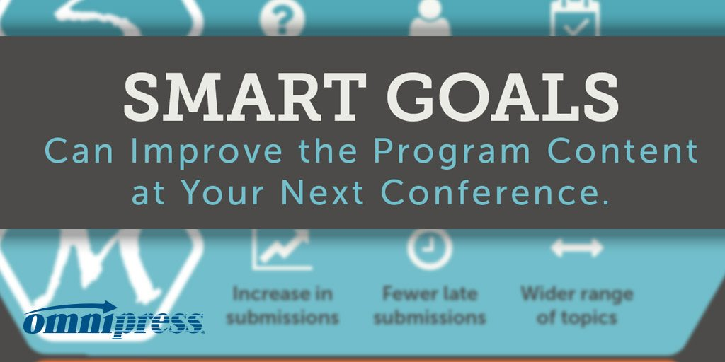 How to Collect High-Quality Conference Content with SMART Goals [Infographic]