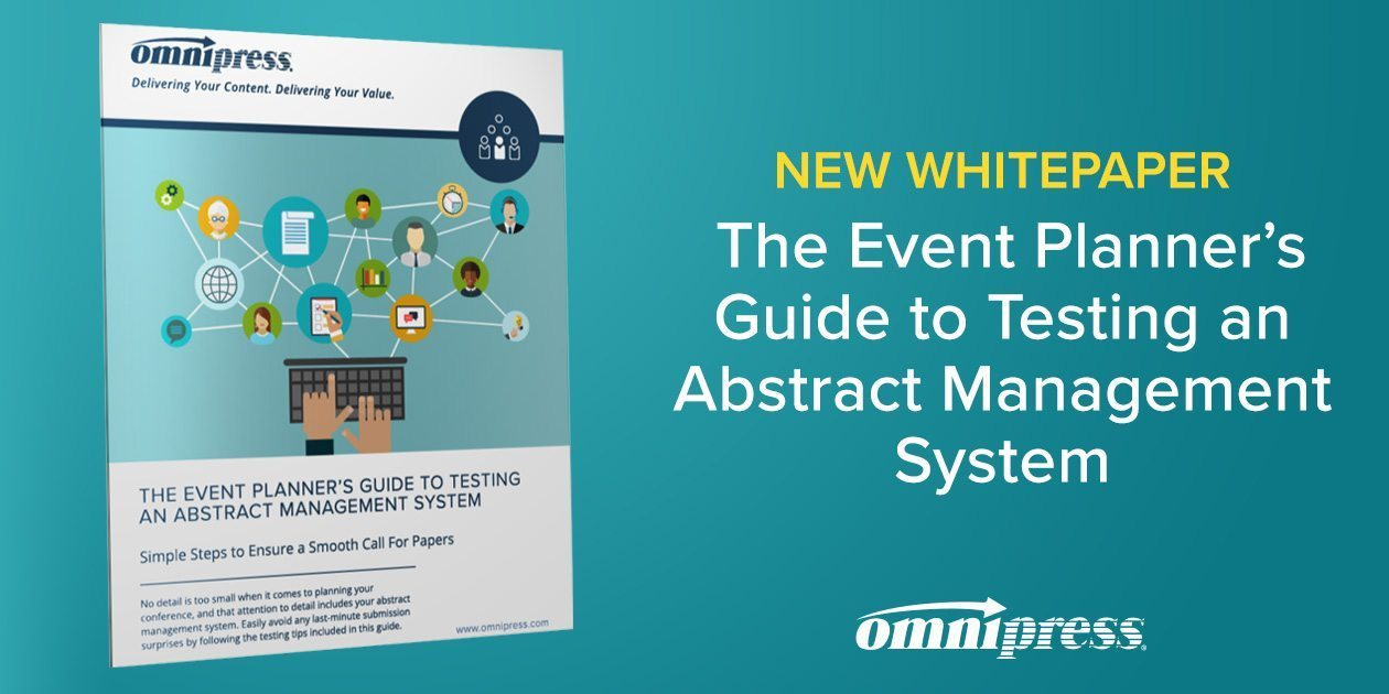 The Event Planner's Guide to Testing Your Abstract Management System