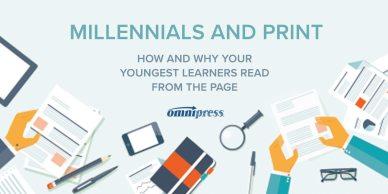 Millennials & Print Infographic