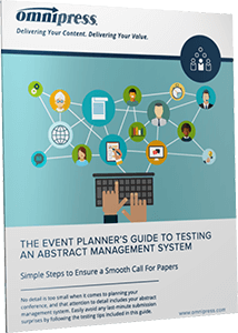 Event Planner's Guide to Testing an Abstract Management System