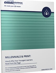 Millennials and Print