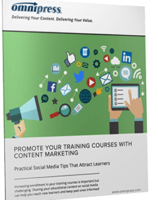 Promote Your Training Courses with Content Marketing