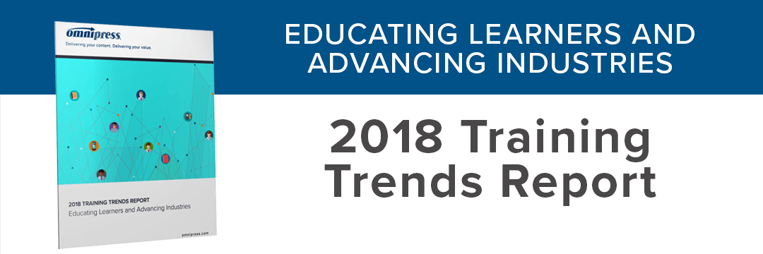 Now Available: 2018 Training Trends Report